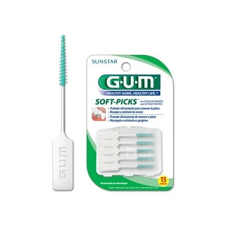 GUM CEPILLO INTERDENTAL SOFT PICKS 632 SOFT R