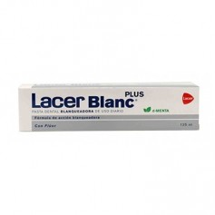 LACERBLANC PLUS PASTA DENTAL MENTA 125 ML