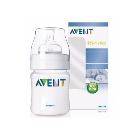 AVENT BIBERON NATURAL (ANCHO) 0 MESES 125 ML