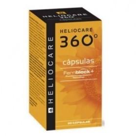 HELIOCARE 360 ORAL 30 CAPSULAS FOTOPROTECTORAS TOPICAS CON FERNBLOCK