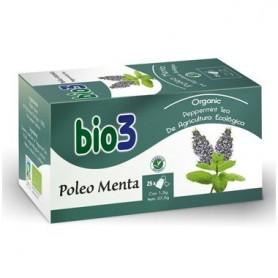 BIO 3 POLEO MENTA ECOLOGICO 25 BOLSITAS