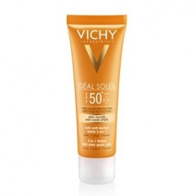 VICHY IDEAL SOLEIL PROTECTOR SOLAR SPF 50+ ANTIMANCHAS 3 EN 1 CON COLOR 50 ML