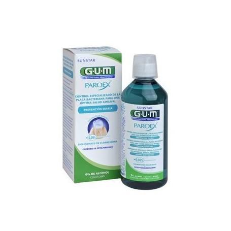 GUM PAROEX COLUTORIO PREVENCION DIARIA 500 ML