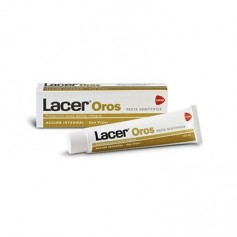 LACER OROS PASTA DENTAL DUPLO 2X125 ML