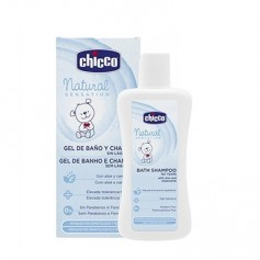 CHICCO NATURAL SENSATION GEL DE BAÑO Y CHAMPU SIN LAGRIMAS 200 ML