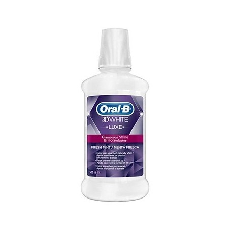 ORAL-B COLUTORIO 3DWHITE BRILLO SEDUCTOR PAC