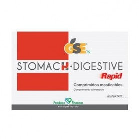 GSE STOMACH DIGESTIVE 24 COMPRIMIDOS MASTICABLES PRODECO PHARMA