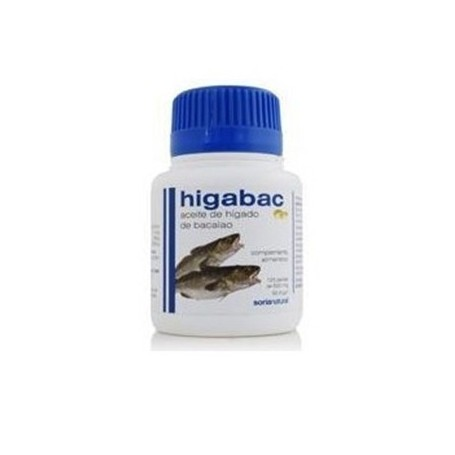 HIGADO BACALAO (HIGABAC) 125PERLAS SORIA