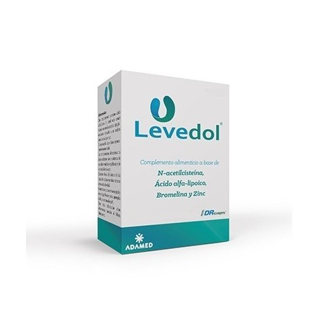 LEVEDOL (ACETILCISTEINA)40 COMP GASTRORRESIST