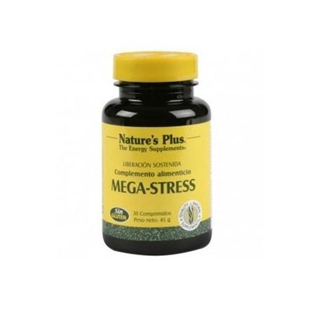 MEGA-STRESS NATURES PLUS 30COMP