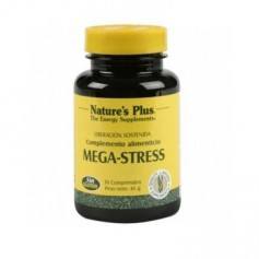 MEGA-STRESS NATURES PLUS 30COMP