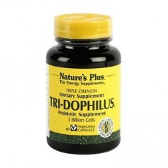 NATURES PLUS TRI-DOPHILUS PROBIOTICOS 60 CAPS