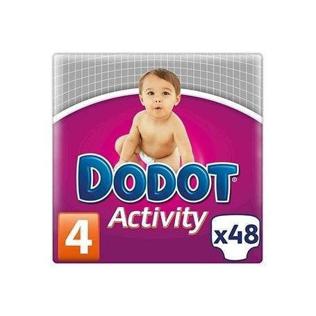 PAÑAL DODOT ACTIVITY T/4 8- 14 KG 48 U