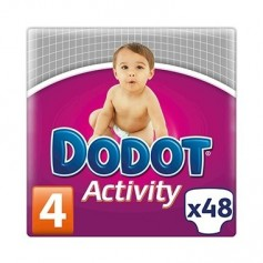PAÑAL DODOT ACTIVITY T/4 8- 14 KG 48 U