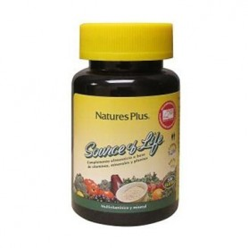SOURCE OF LIFE MULTIVITAMINICO Y MINERAL NATU