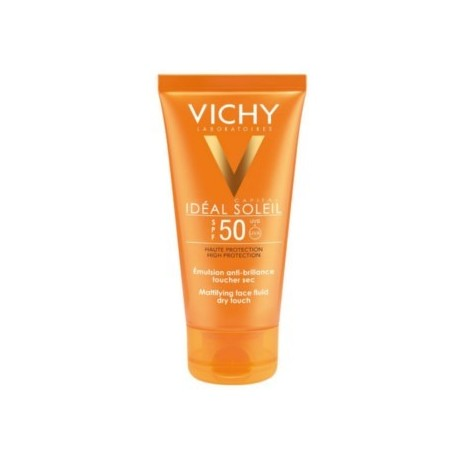 VICHY IDEAL SOLEIL SPF 50 LECHE GEL ULTRAFUNDENTE PIEL MOJADA 200 ML