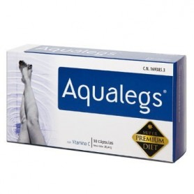 NC AQUALEGS RUSCO CON VIT C 30 CAPSULAS DRENANTES NUTRICION CENTER