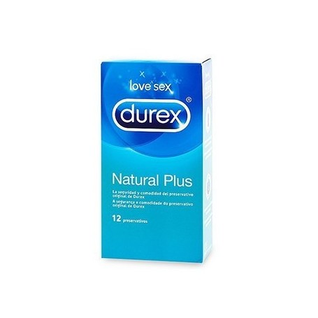 DUREX NATURAL PLUS 6U. EASY ON