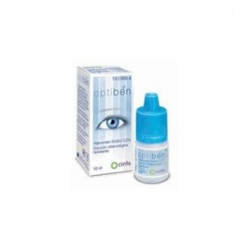 OPTIBEN LUBRICANTE OCULAR GOTAS 10 ML
