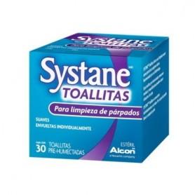 SYSTANE 30 TOALLITAS HUMEDAS ESTERILES