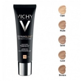 VICHY DERMABLEND 3D CORRECTION SPF15 NUDE 25