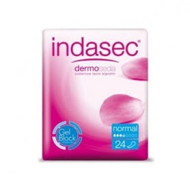 INDASEC COMPRESA NORMAL 36 UNIDADES 24+12