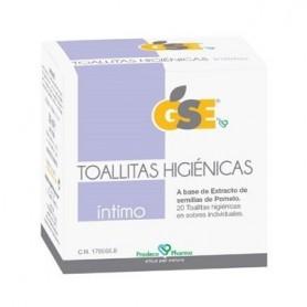 GSE INTIMO TOALLITAS HIGIENICAS POMELO 20 TO