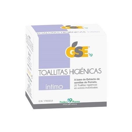 GSE INTIMO TOALLITAS HIGIENICAS POMELO 20 TOALLITAS PRODECO PHARMA
