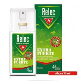 RELEC EXTRA FUERTE SPRAY REPELENTE DE MOSQUITOS 75 ML