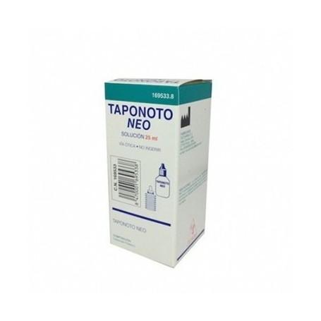 TAPONOTO NEO (POTASIO) SOLUCION LIMPIEZA OIDO 25 ML