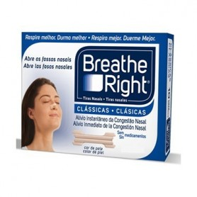 BREATHE RIGHT TIRAS NASALES GRANDES 30 UNIDADES