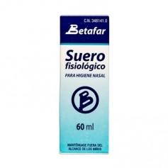 BETAFAR SUERO FISIOLOGICO PARA HIGIENE NASAL 60 ML