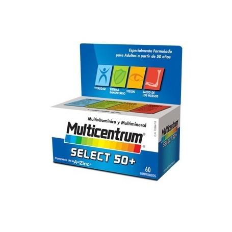 MULTICENTRUM SELECT 50 + MULTIVITAMINICO 90 COMPRIMIDOS