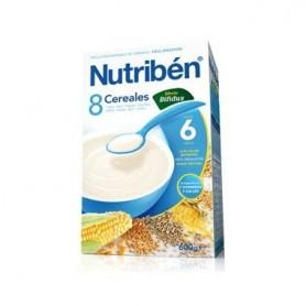 NUTRIBEN 8 CEREALES DIGEST (BIFIDUS) 600GR.