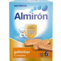 ALMIRON ADVANCE GALLETITAS 6 CEREALES 180 GR FARMACIAMANZANO