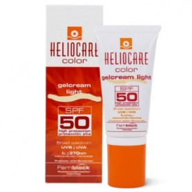 HELIOCARE GELCREAM COLOR LIGHT FOTOPROTECTOR SPF50 50ML