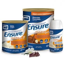 ENSURE NUTRIVIGOR BATIDO DE CHOCOLATE CON PROTEINAS 4 UNIDADES X 220 ML