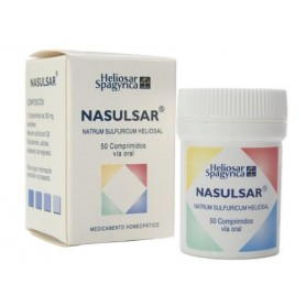 HELIOSAR NASULSAR (NATRUM SULFURICUM D6) 60 COMP HOMEOSPAGYRIA