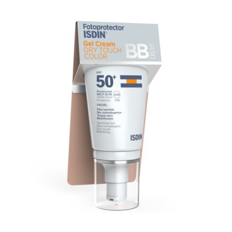 FOTOPROTECTOR ISDIN 50+ GEL CREAM DRY TOUCH BB COLOR 50 ML
