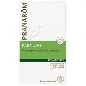 PRANAROM AROMAFORCE PASTILLAS GARGANTA 21 PA