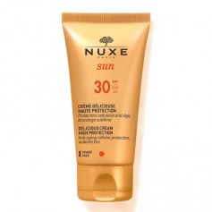 NUXE SUN PACK CREMA FACIAL DELICIOSA SPF 30 50 ML + AFTER SUN 100 ML