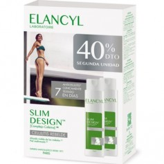 ELANCYL SLIM DESIGN PACK TRATAMIENTO CELULITIS REBELDE 2X200 ML