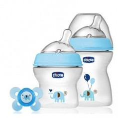 BIBERON CHICCO STEP UP BIBERONES NEW PACK 250+150 ML + CHUPETE