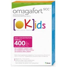 OMEGAFORT OKIDS OMEGA-3 DHA Y VITAMINA D 30 PASTILLAS