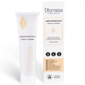 DHYVANA JABON REFRESCANTE PAPAYA Y JENGIBRE UNIQUE BEAUTY 100 ML