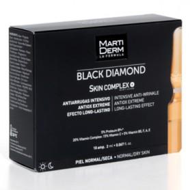 MARTIDERM SKIN COMPLEX BLACK DIAMOND ANTIARRUGAS INTENSIVO 10 AMPOLLAS