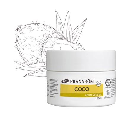 PRANAROM ACEITE VEGETAL DE COCO BIO (COCOS NUCIFERA) 100 ML