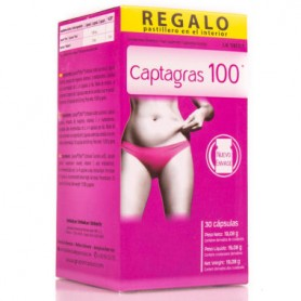 NC CAPTAGRAS 100 CONTROL DE PESO CON LIPOSAN 30 COMPRIMIDOS NUTRICION CENTER