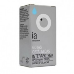 INTERAPOTHEK GOTAS OFTALMICAS HIDRATANTES CON HIALURONATO DE SODIO 6 ML