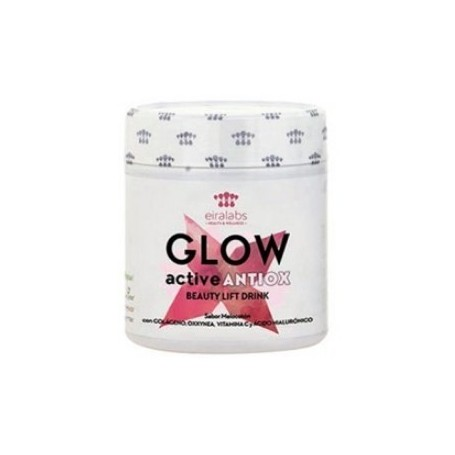 GLOW COLLAGEN ACTIVE BEAUTY LIFT DRINK ANTIOX SABOR MELOCOTON 300 G